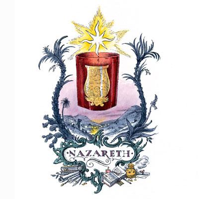 Bougie-rouge-Nazareth-Trudon