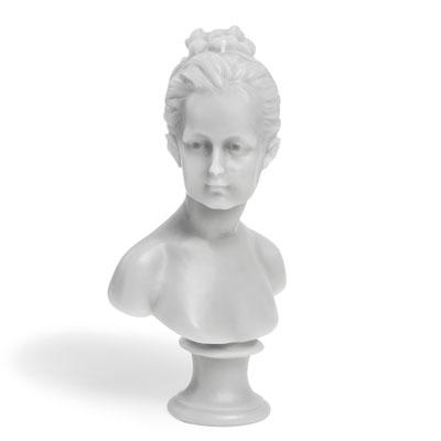 Buste Louise Brognard cire trudon