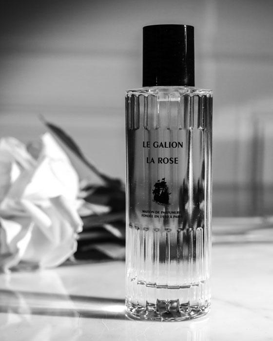 Parfum la rose Le galion