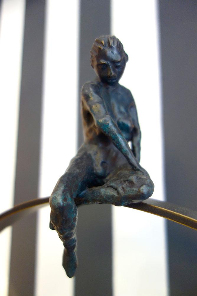 Sculpture en Bronze La Majestueuse Bordeaux