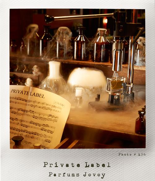 Parfum private label Jovoy