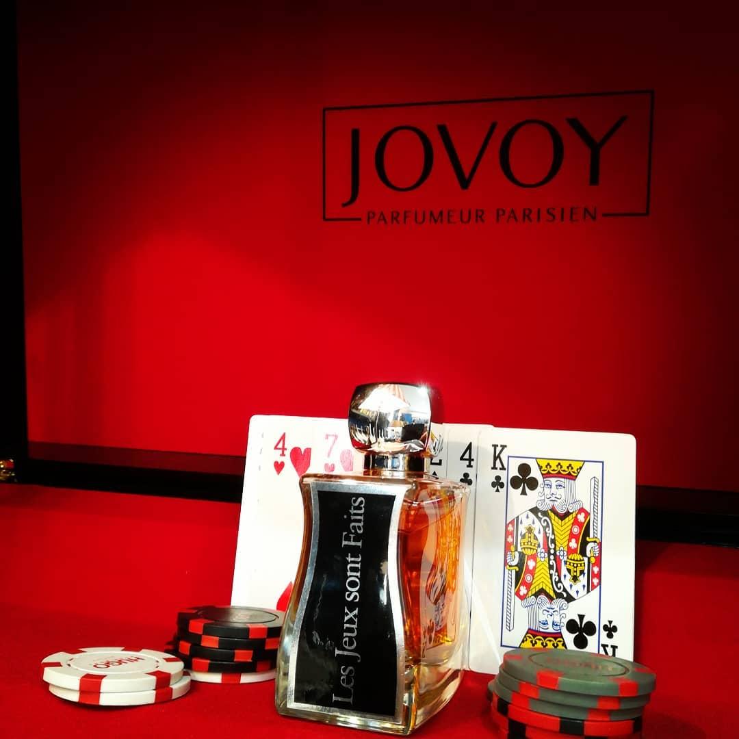 """Parfum Jovoy """"Les jeux sont faits"""""""