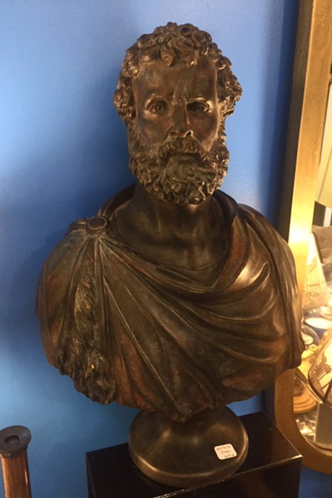 sculpture aristote