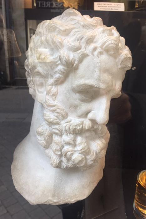 sculpture le penseur