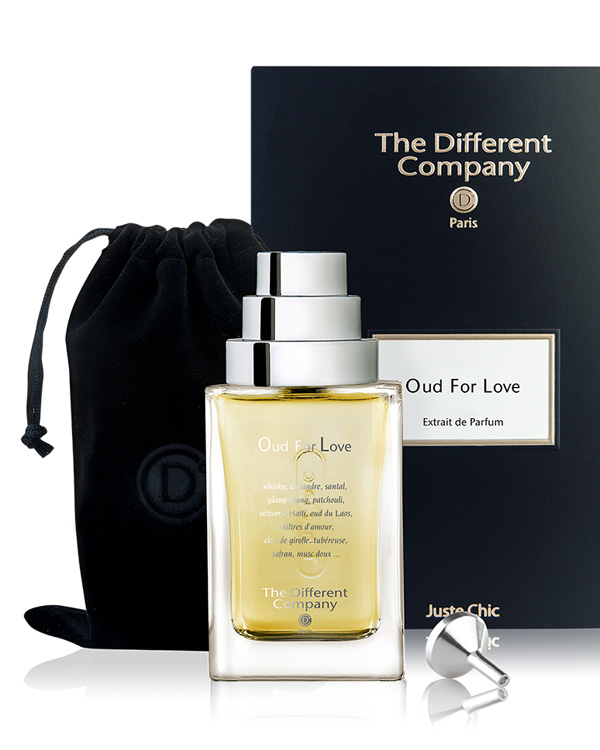 Parfum oud for love the different company