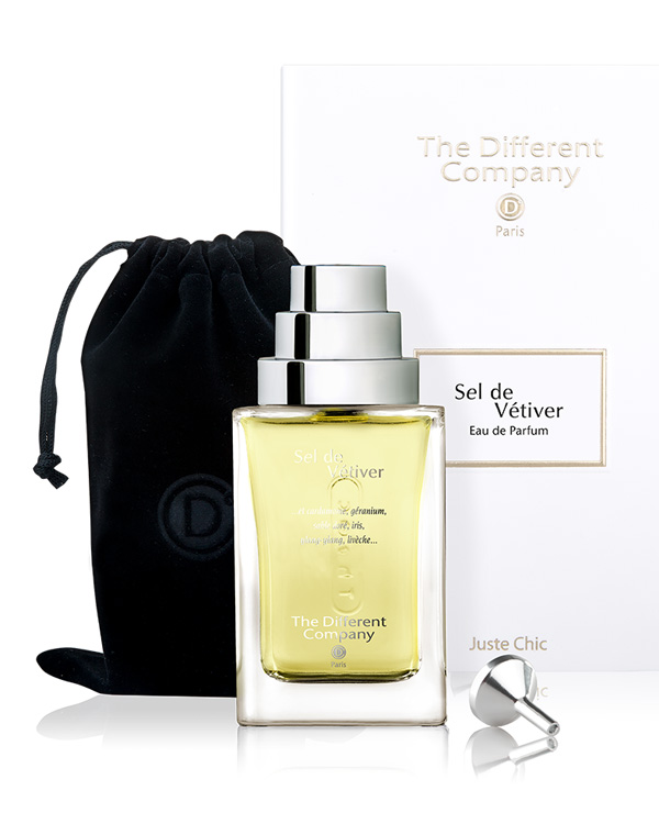 Parfum sel de vetiver the different company