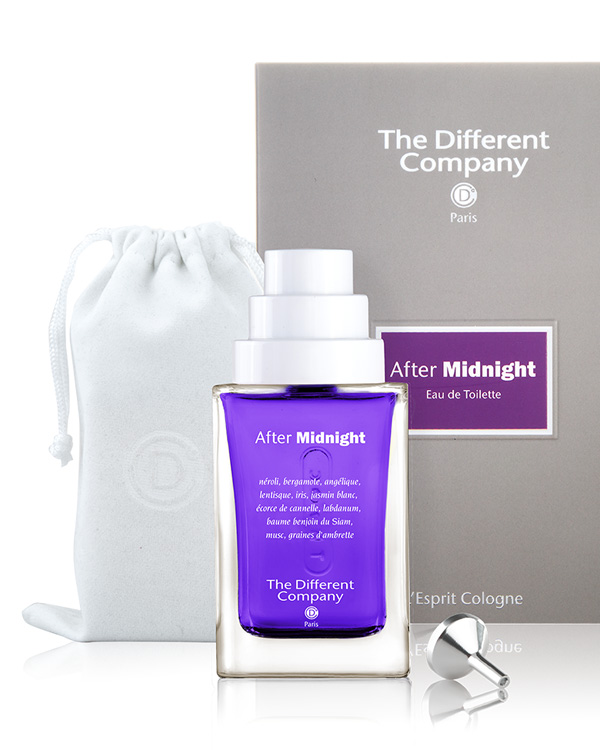 Parfum after midnight The different company