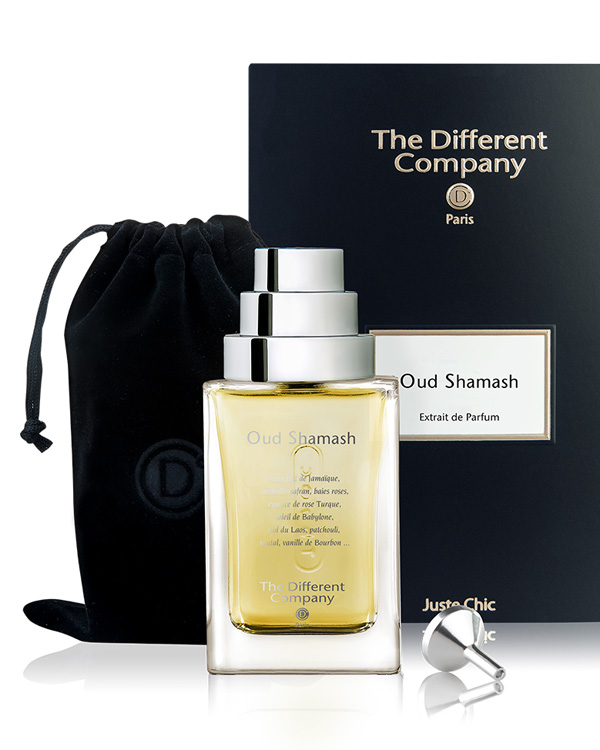 Parfum Oud Shamash the different company
