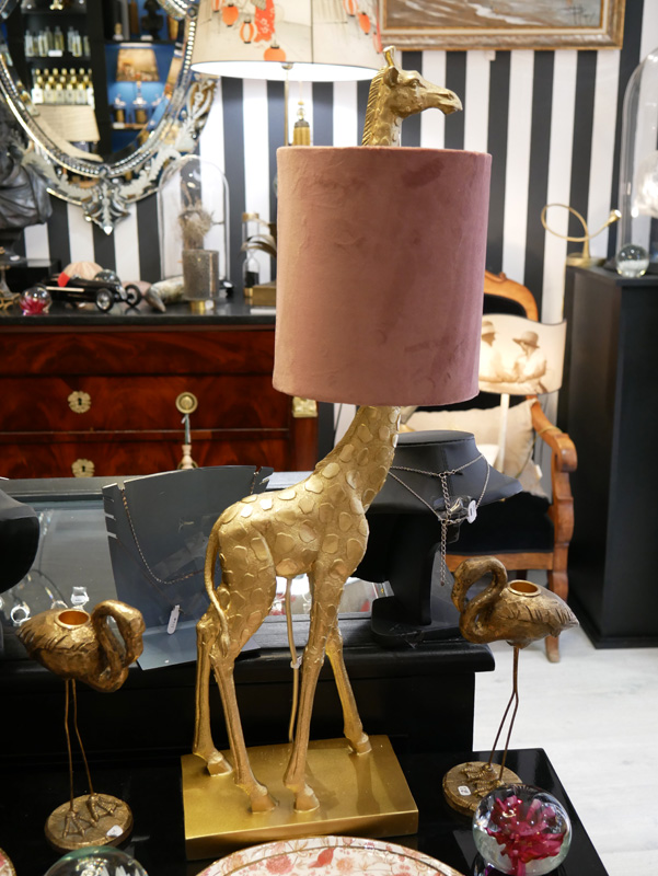lampe girafe la majestueuse bordeaux