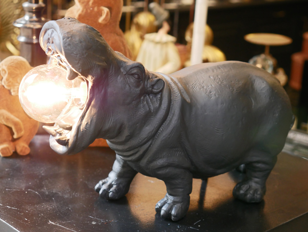 lampe hippopotame la majestueuse bordeaux
