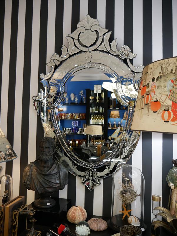 miroir vénitien la majestueuse bordeaux