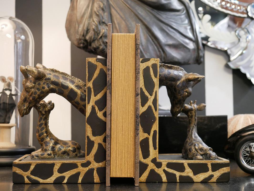 presse livres girafe deco la majestueuse bordeaux