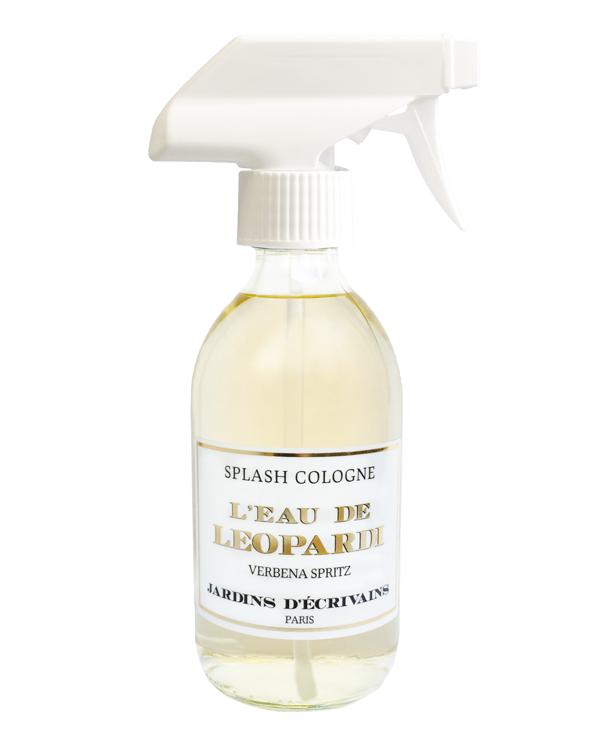 parfum eau de leopardi splash cologne jardins d'écrivain