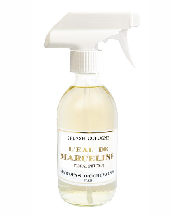 Parfum eau de marceline Splash cologne jardins d'écrivain