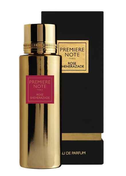 Parfum rose sheherazade Première note