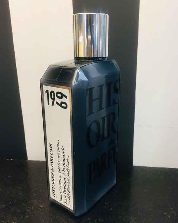 Lait parfumé 1969 Histoires de parfums